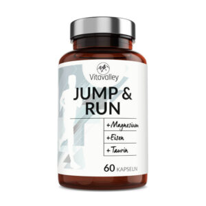 Jump and Run - das Läufervitamin in der Glasflasche