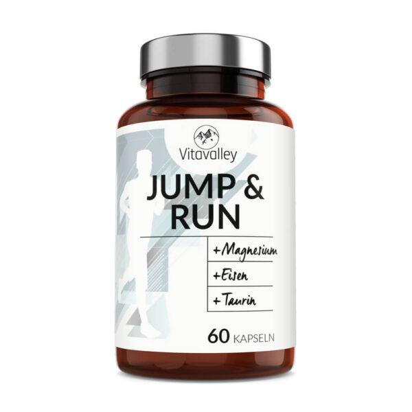 Jump and Run - das Läufervitamin in der Glasflasche